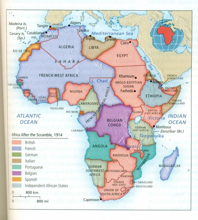 Partage de l'Afrique